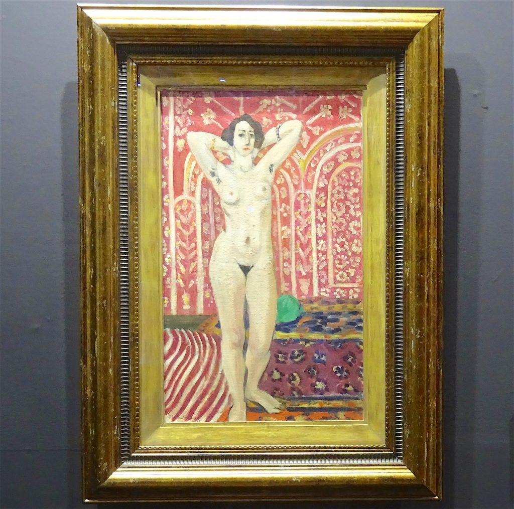 """アンリ・マティス Henri Matisse """"Nu sur fond rouge"""" 1922 @ MIZOE ART GALLERY みぞえ画廊"""