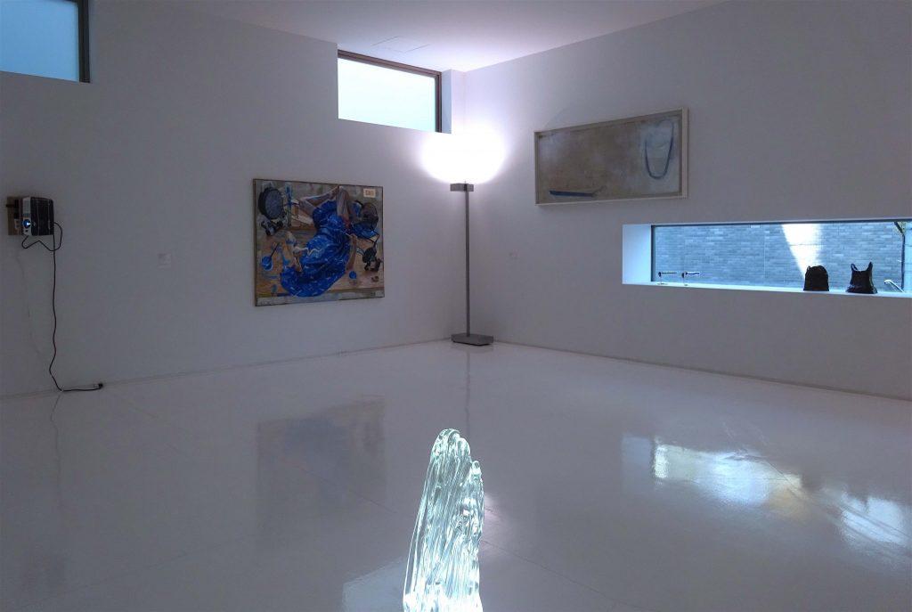 シュウゴアーツショーの一部の展示風景