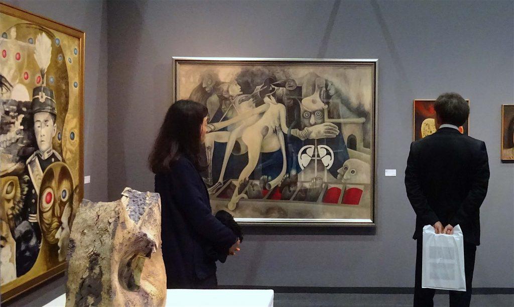 YAMASHITA Kikuji 山下菊二 at Saihodo Gallery 彩鳳堂画廊