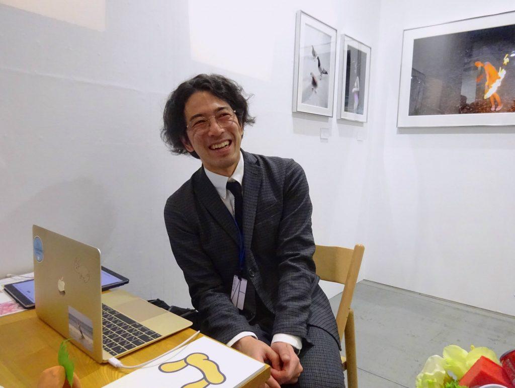 salon cojica, gallery owner KAWAKAMI Taiga 川上大雅