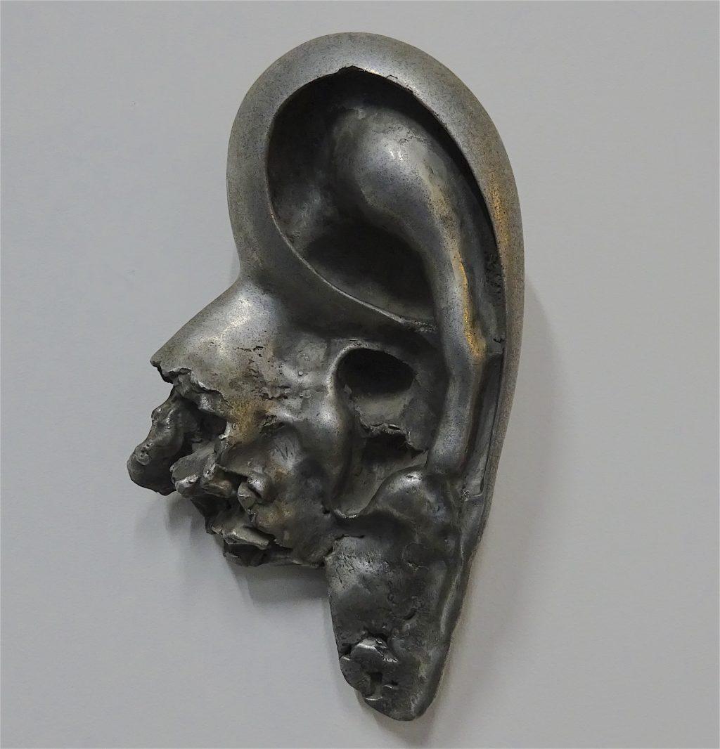 三木 富雄 MIKI Tomio 「EAR」1989, aluminium alloy
