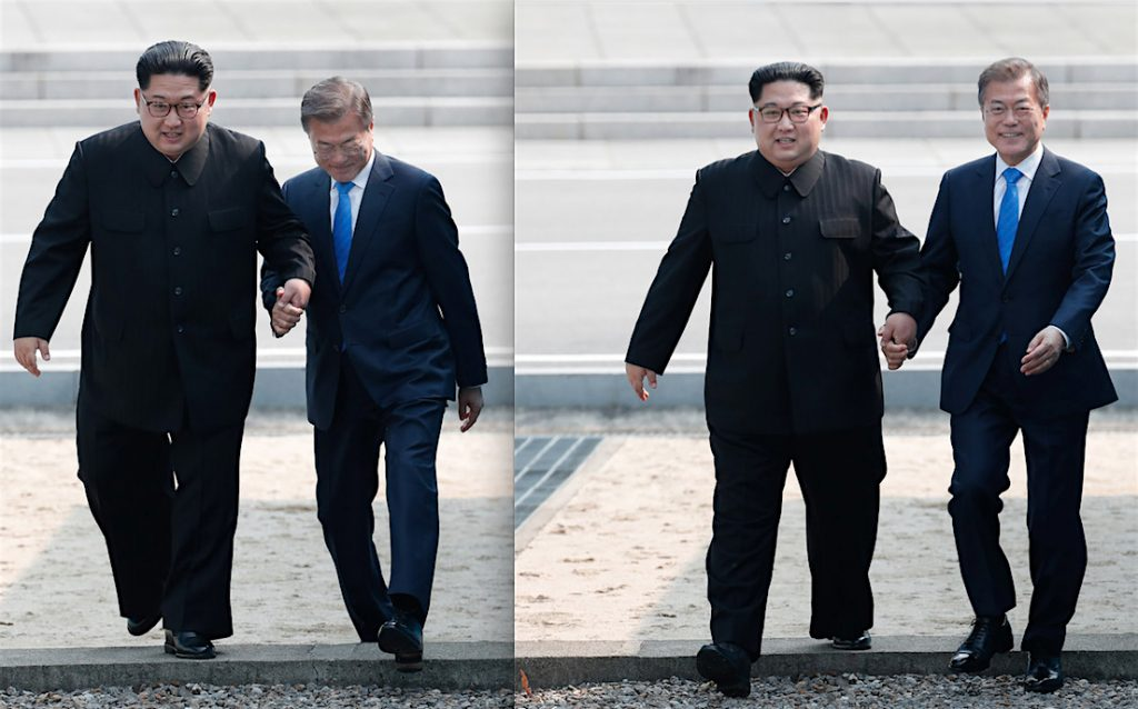 The road to Korean Reunification 2018/4/27