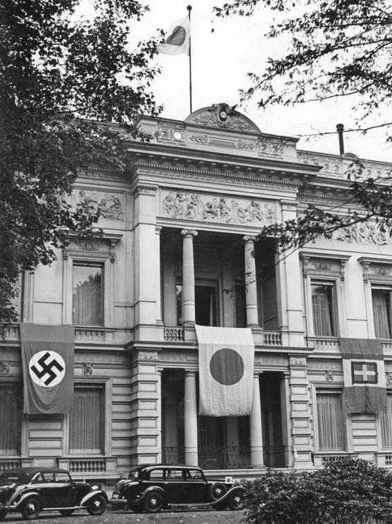 日独伊三国同盟を中心とする枢軸国の時:ベルリンの日本大使館、1940年