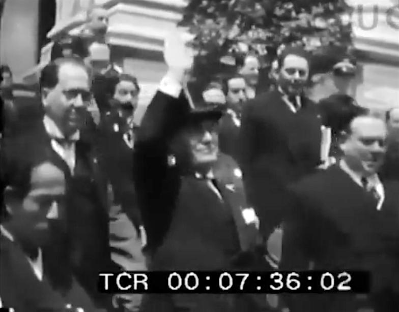 横山大観・ムッソリーニ横山大観・ムッソリーニ.戦争19