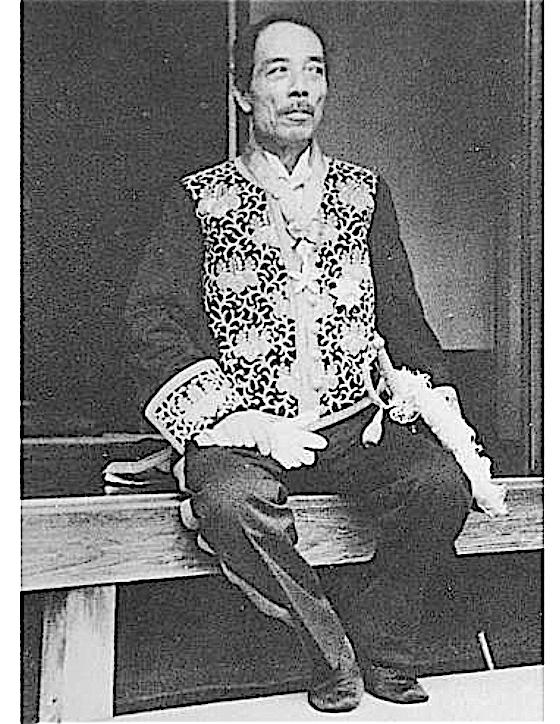 大礼服の姿、戦争画家横山大観 1941年 (aka 皇紀2601年、昭和16年)