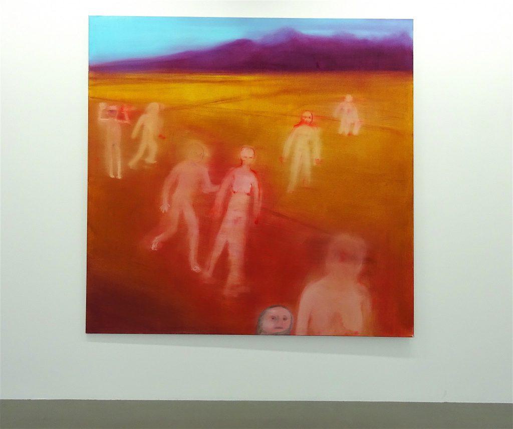 Miriam Cahn ミリアム・カーン「無題」(Untitled) oil on canvas、2016 @ WAKO WORKS OF ART 2017年