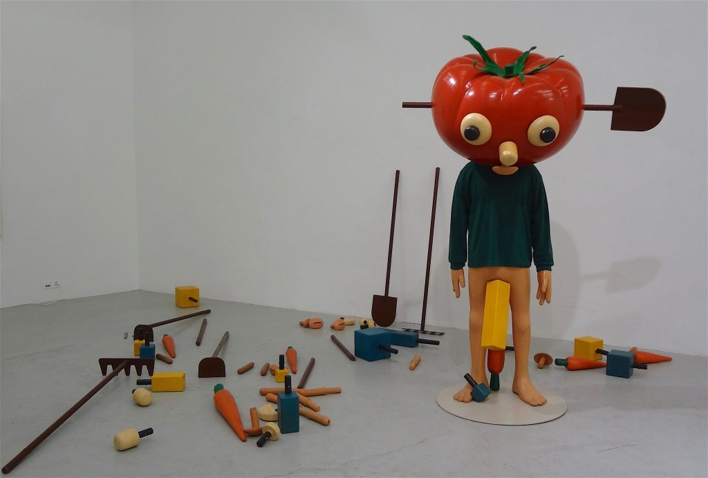 Paul McCarthy 「Tomato Head (Green)」1994