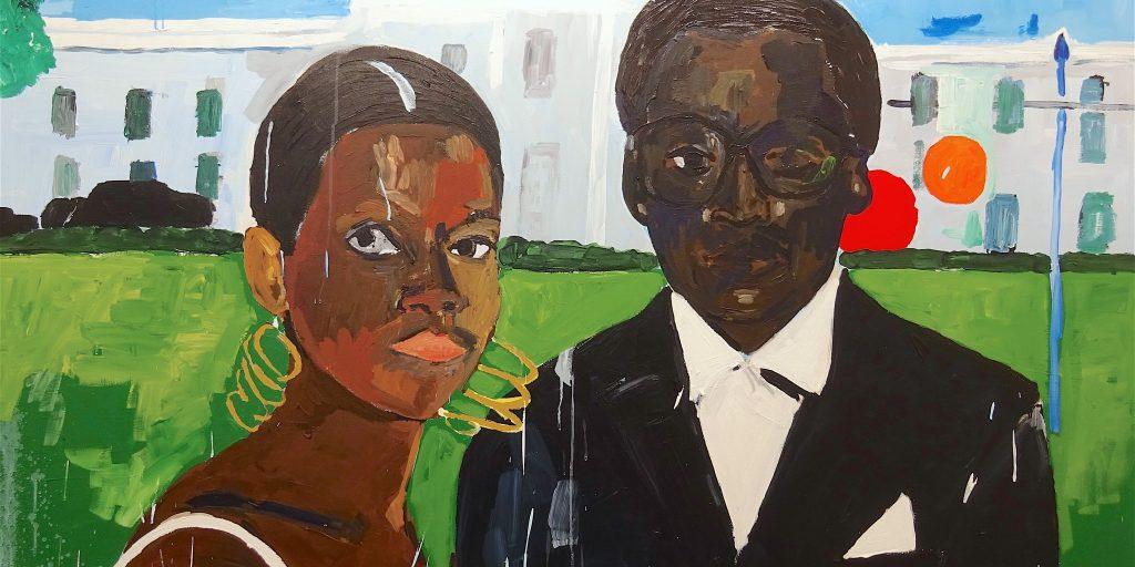 ヘンリー・テイラー 'Cicely and Miles Visit the Obamas'