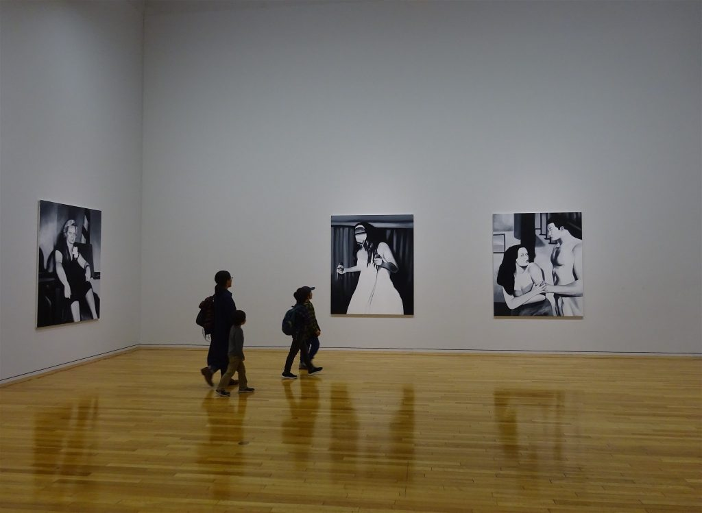 五木田智央 GOKITA Tomoo個展の展示風景