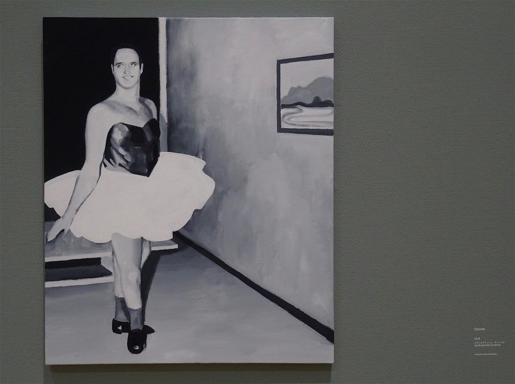五木田智央 GOKITA Tomoo 'Charade' 2018, acrylic gouache on canvas, 72.7 x 60.6