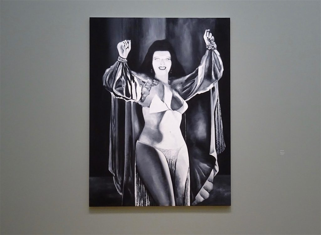 五木田智央 GOKITA Tomoo 'Come Play with Me' 2018, acrylic gouache on canvas, 259 x 194 cm