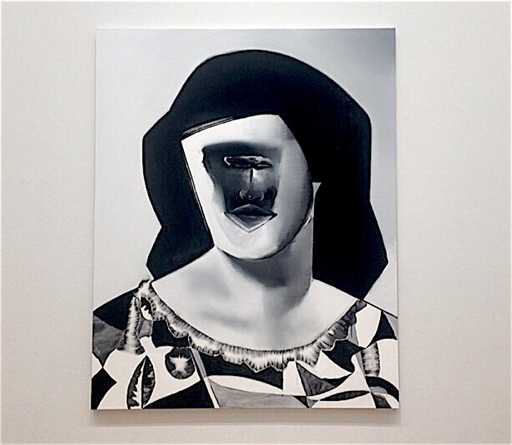 五木田智央 GOKITA Tomoo 'Lady Dada' 2016, acrylic gouache on canvas, 227.3 x 181.8 cm (Oketa Collection, Tokyo 桶田コレクション (東京))