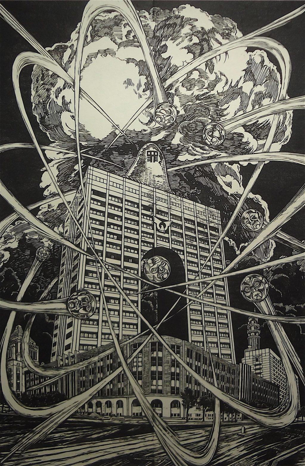 風間サチコ 「獄門核分裂235」、2012年