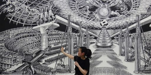 優作「ディスリンピック2680」@ 風間サチコ展・「原爆の図 丸木美術館」