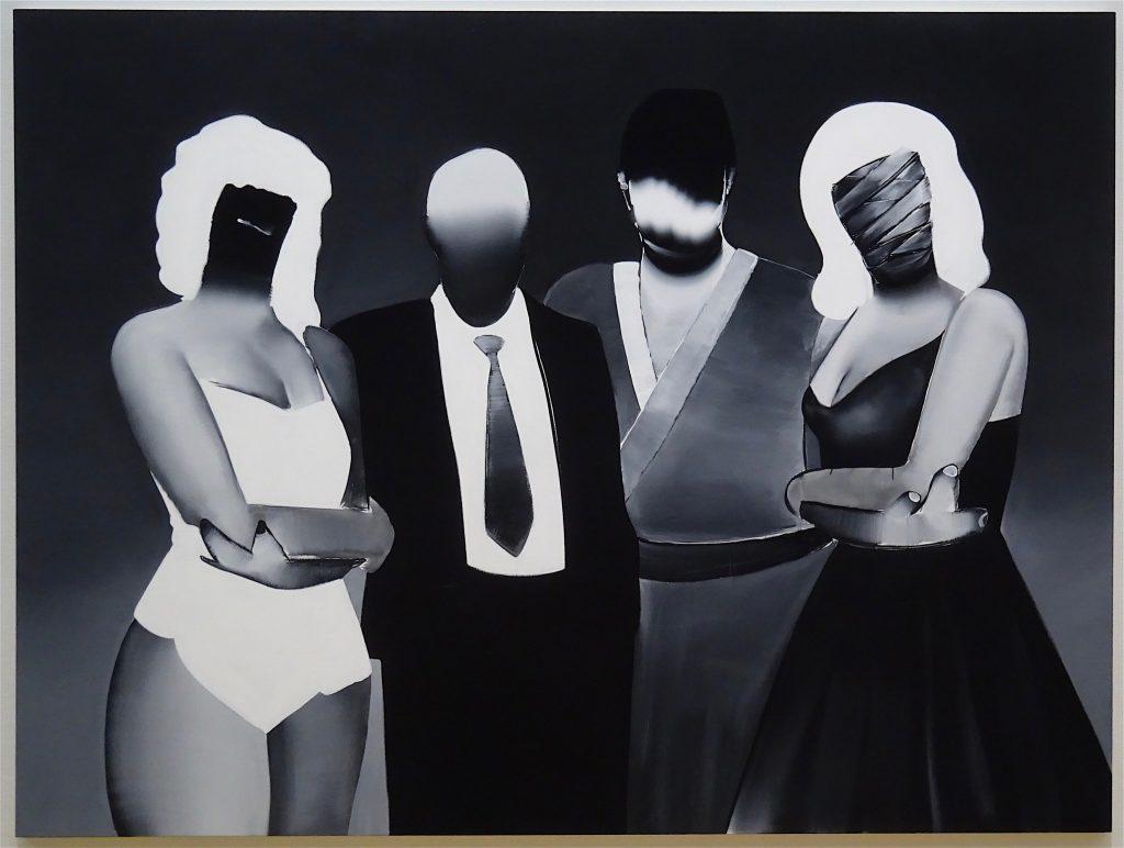 五木田智央 GOKITA Tomoo 'Tokyo Confidential' 2015, acrylic gouache on canvas, 194 x 259 cm (Lavandeyra Family Collection, Geneve)
