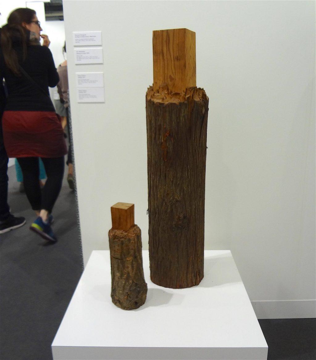 高松次郎 TAKAMATSU Jiro 「Oneness of Cedar」