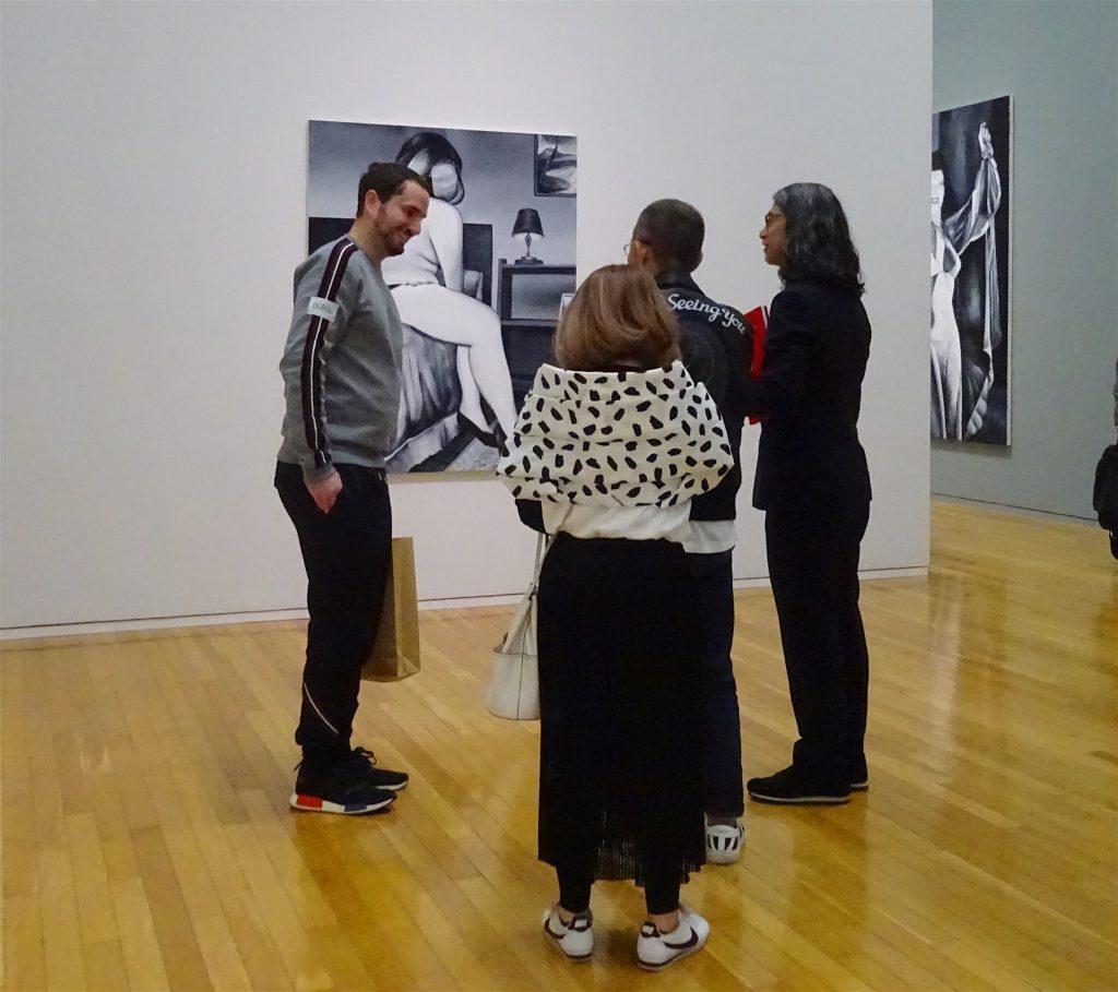 right: Taka Ishii Gallery owner ISHII Takayuki 石井孝之氏