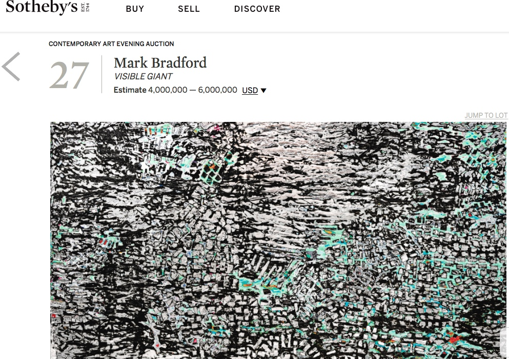 mark マーク bradford
