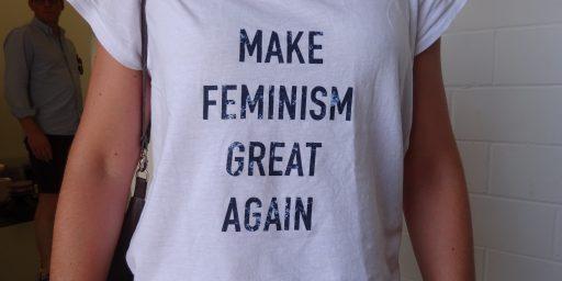 新作品群「メイク・フェミニズム・グレート・アゲイン」