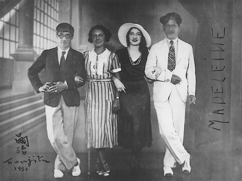 珍しい藤田嗣治像、1931年 マドレーヌ = フジタの恋人