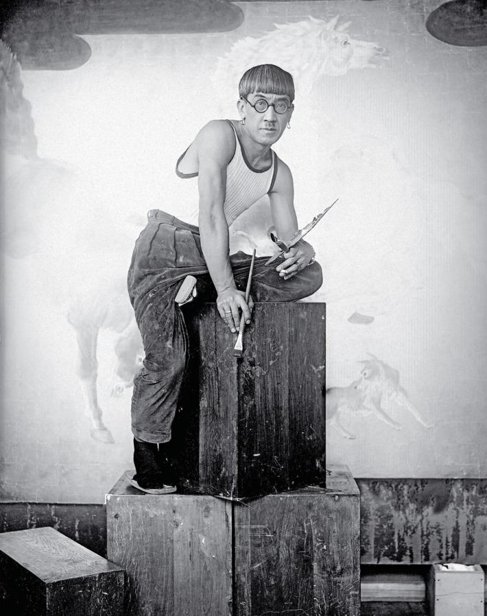 藤田嗣治パリ1929