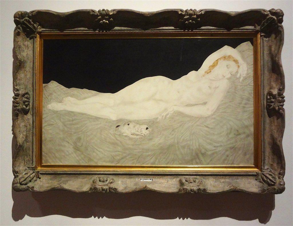 藤田嗣治・レオナール・フジタ Leonard Foujita Sleeping Woman