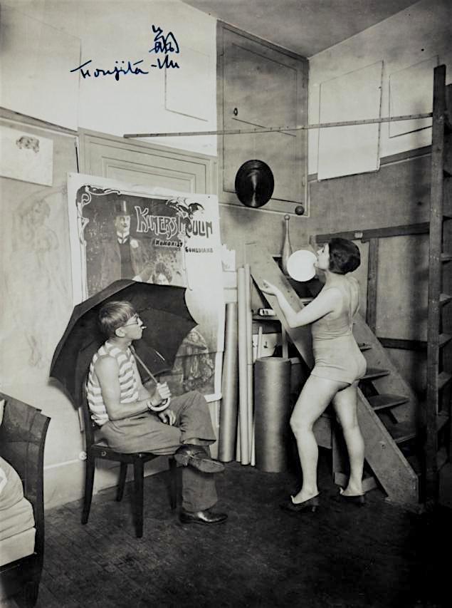 藤田嗣治-Léonard Foujita-ユキ藤田-Youki Foujita 1924s