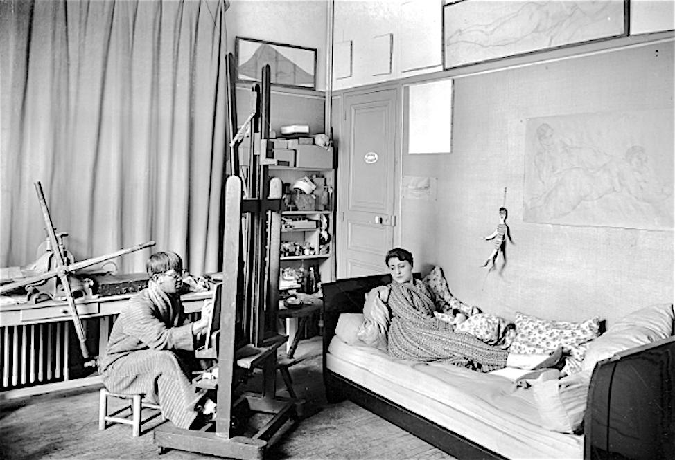 藤田嗣治-Léonard Foujita-ユキ藤田-Youki Foujita around 1929