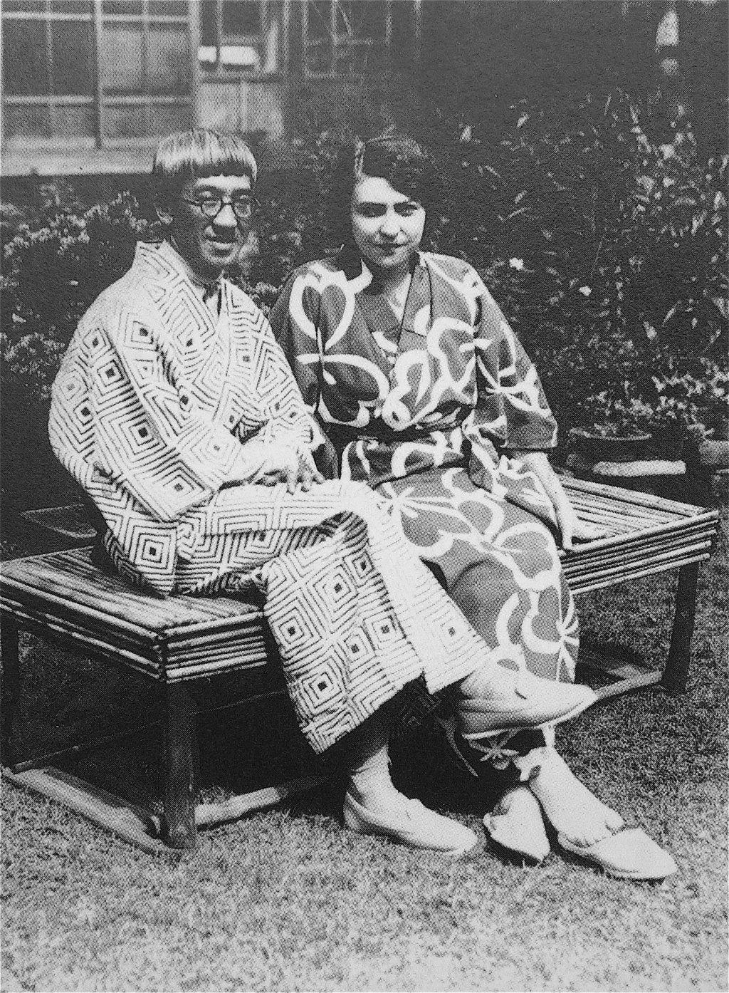 藤田嗣治 Tsuguharu Foujita + 妻 藤田ユキ Youki Foujita 1929