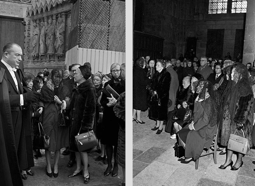 レオナール・ツグハル・フジタ・ランス・ノートルダム大聖堂・葬儀・1968