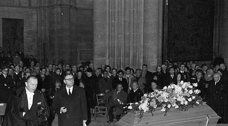 レオナール・ツグハル・フジタ・ランス・ノートルダム大聖堂・葬儀
