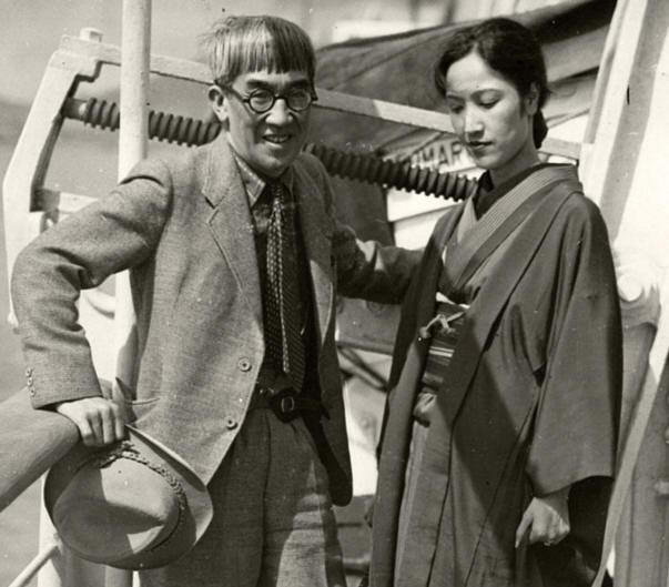 藤田嗣治・藤田君代 1935