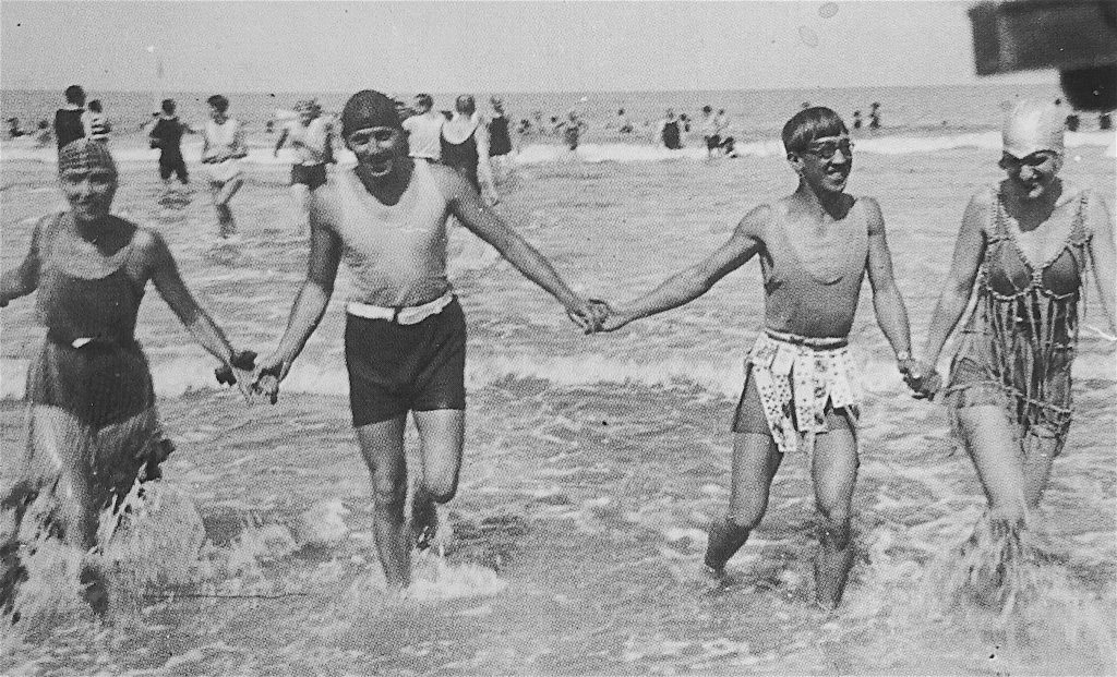 藤田嗣治・Léonard Foujita-シュジー・ソリドール Suzy Solidor-フランス・海Deauville 1928