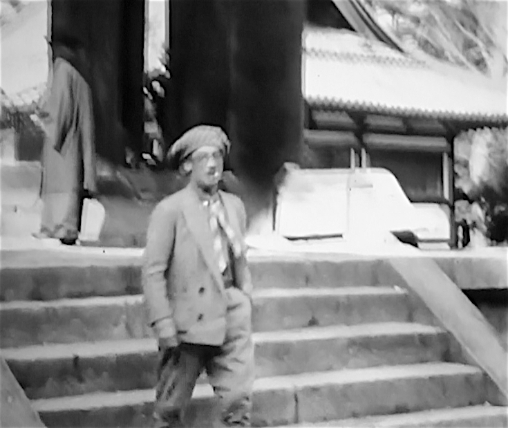 藤田嗣治・Léonard Foujita-日本-walking-1929