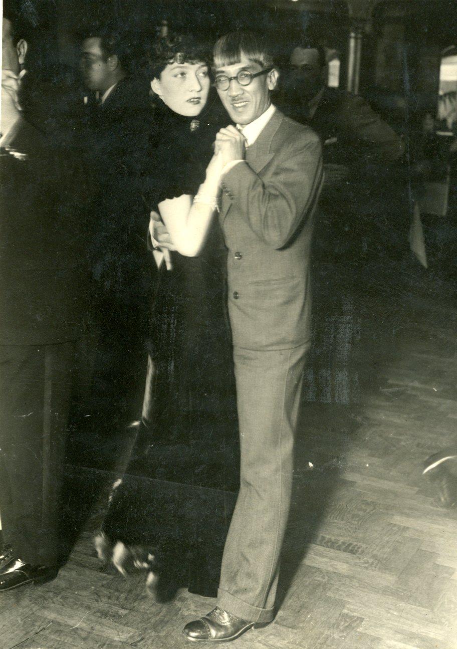 Leonard Foujita + Madelaine 1932 Buenos Aires