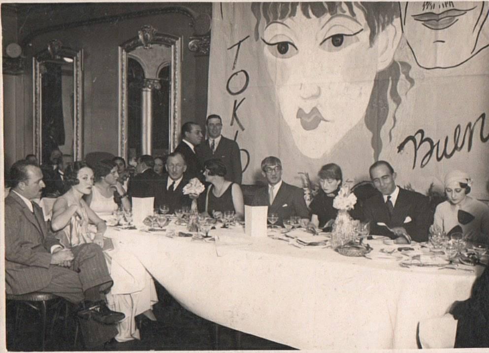 Leonard Foujita Madelaine Buenos Aires 1932