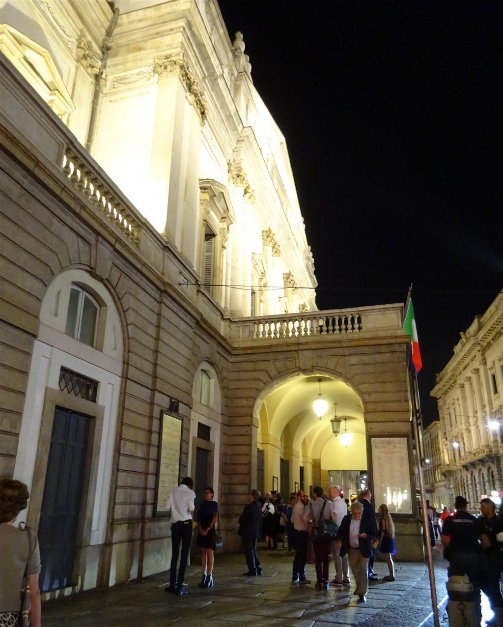 イタリア夏休み ミラノ・スカラ座
