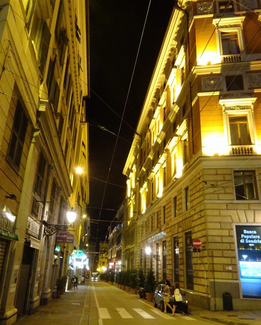 イタリア夏休み Genova