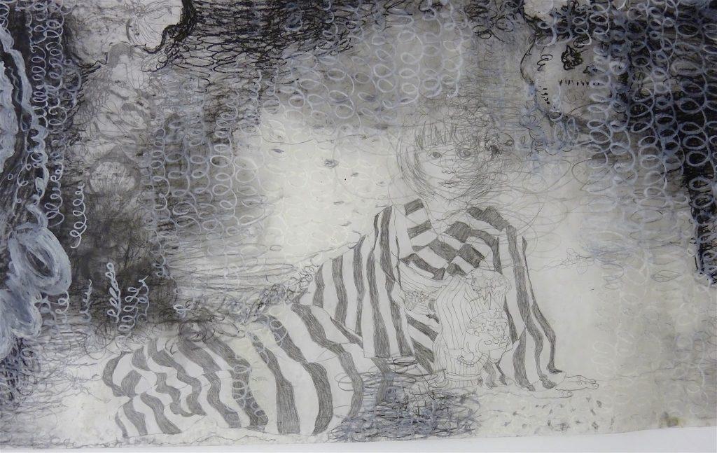 福村彩子 FUKUMURA Ayako「ぜんぶだいなわけ」2009、detail