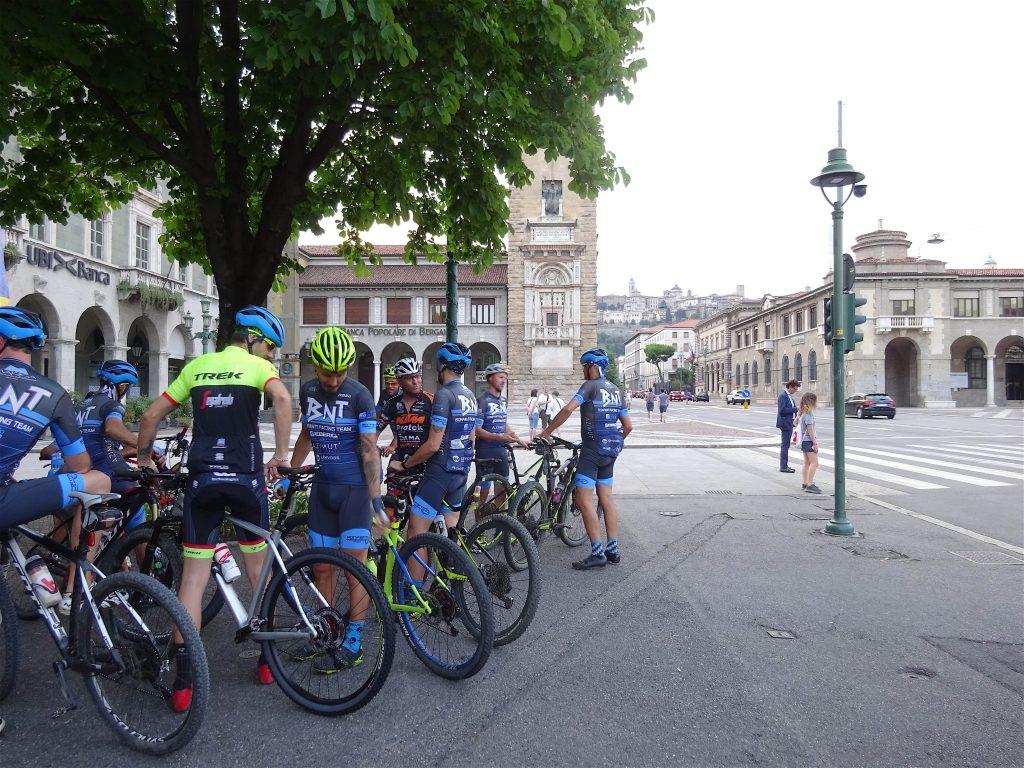 イタリア夏休み Bergamo