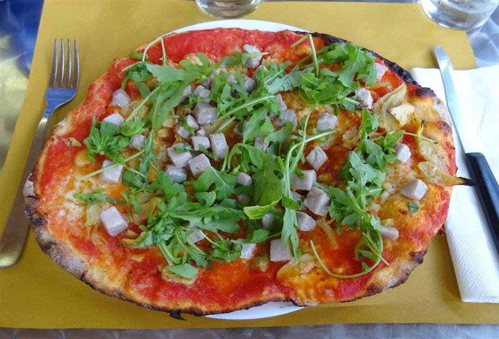 イタリア夏休み pizza