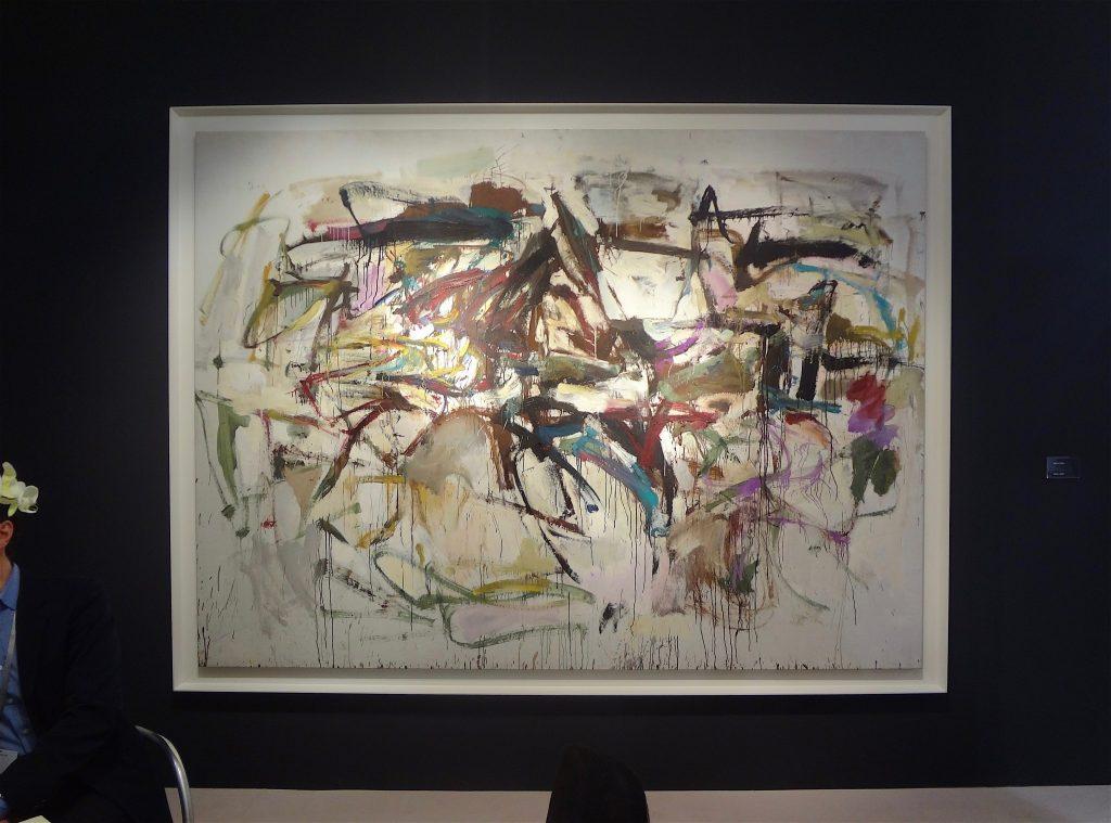 """ジョアン・ミッチェル Joan Mitchell """"Untitled"""" 1956, Oil on canvas, 204.5 x 278.1 cm (Cheim & Read, 2013)"""