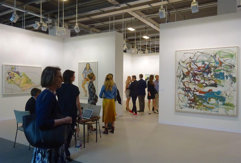 """ジョアン・ミッチェル Joan Mitchell """"Untitled"""" 1958, Oil on canvas, 201.3 x 180.7 cm (David Zwirner, 2018)"""