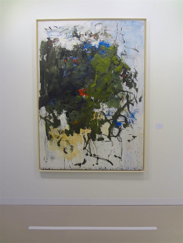 """ジョアン・ミッチェル Joan Mitchell """"Untitled"""" 1964, Oil on canvas, 200.3 x 141 cm (Max Hetzler, 2013)"""