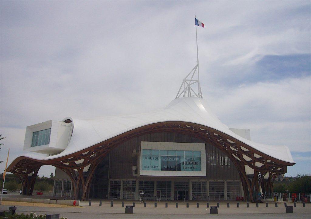 ポンピドゥー・センター・メッス Centre Pompidou-Metz, Musée national d'art moderne, 2015年7月