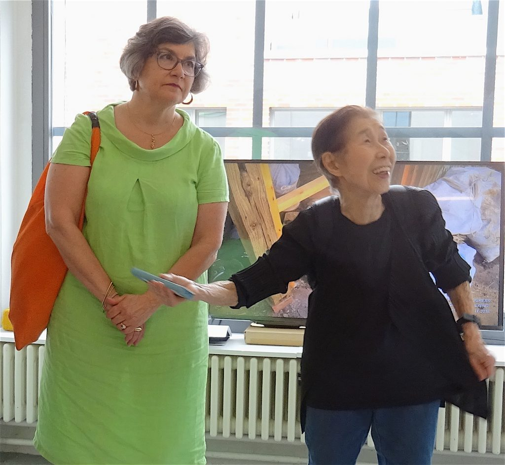 三島喜美代 MISHIMA Kimiyo + Anne Mosseri-Marlio
