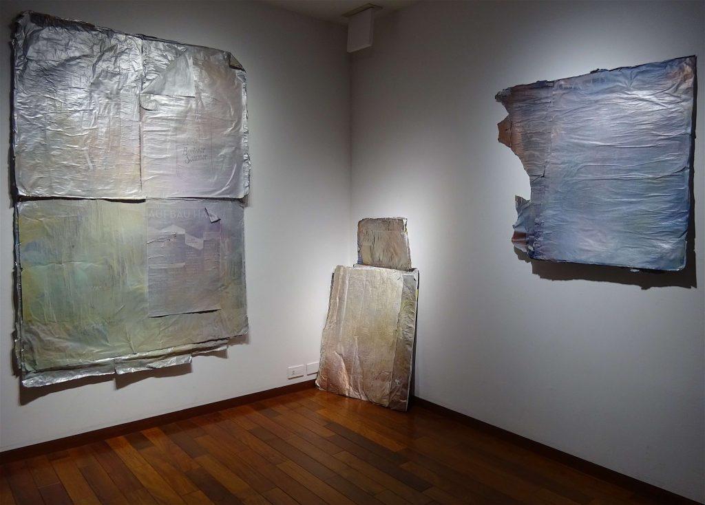 宇多村英恵個展「戦争と休日」ベルリン
