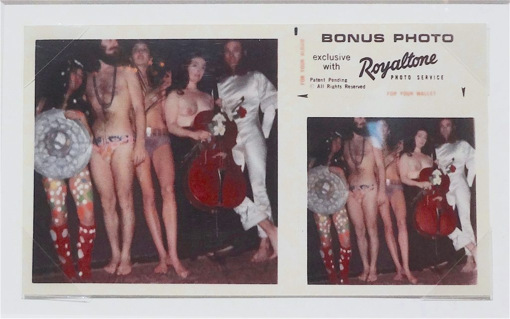 "Andy Warhol ""Yayoi Kusama, Louis Abolafia, Carolee Schneemann, Charlotte Moorman, and R. Cooper (The Dirty Half Dozen)"" 1969"