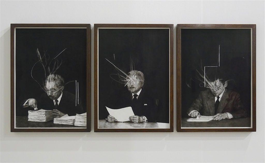 Art Basel、Switzerland、アート・バーゼル、スイス 2018年6月:KOIZUMI Meiro 小泉明朗作 「The Symbol #3」2018, Annet Gelink Gallery