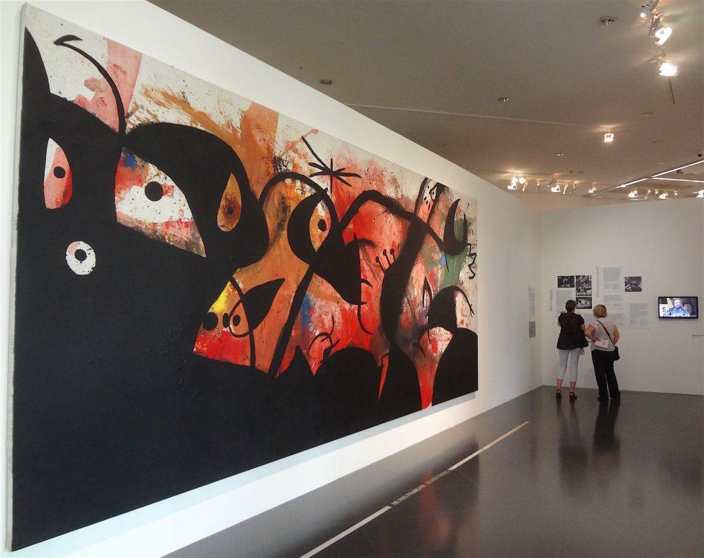 Joan Miró ポンピドゥー・センター・メッス、2015年7月
